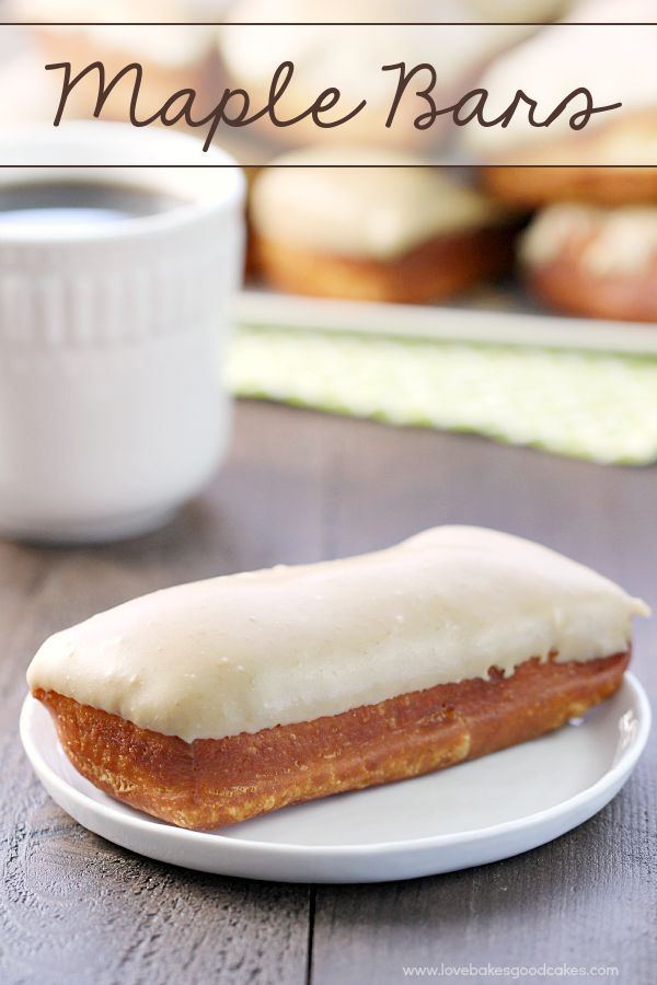 Why go to the donut shop when you can easily make these from-scratch Maple Bars? They are the perfect addition to a weekend brunch!