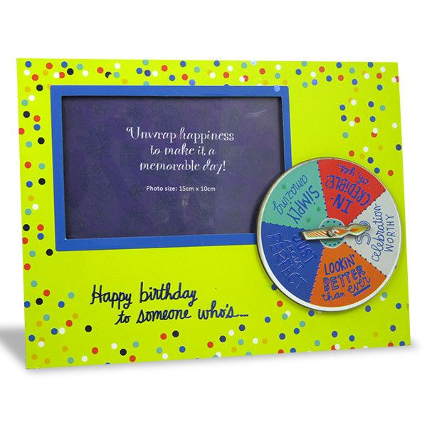 All That You Are Birthday Photo Frame. Happy Birthday to someone who's… Shop Now : Rs. 474 : Height : 19 cm X Length : 25 cm X width : 1 cm. https://hallmarkcards.co.in/collections/shop-all/products/birthday-photo-frames