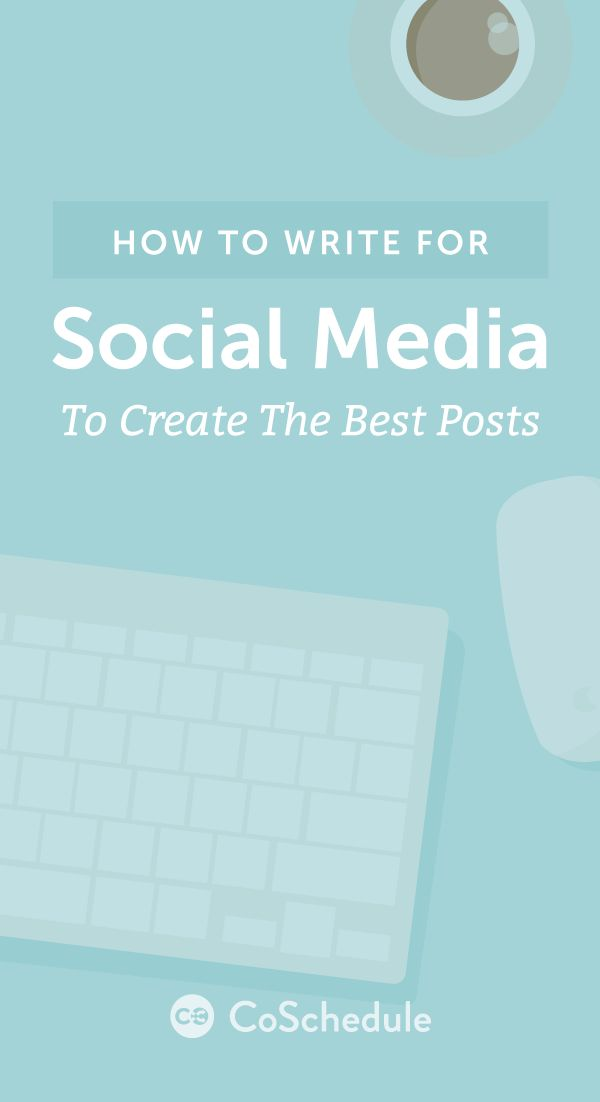 The cheat sheet for writing on social media http://coschedule.com/blog/how-to-write-for-social-media/?utm_campaign=coschedule&utm_source=pinterest&utm_medium=CoSchedule&utm_content=This%20Is%20How%20To%20Write%20For%20Social%20Media%20To%20Create%20The%20Best%20Posts