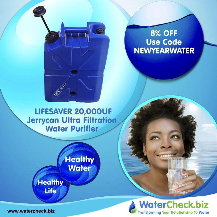 Our LIFESAVER Jerrycan is a robust and portable water filter purifier capable of delivering up to 20,000 Liters / 5283.44 US gallons of clean, purified water - removing viruses, bacteria, cysts and parasites instantly. #water #eco
