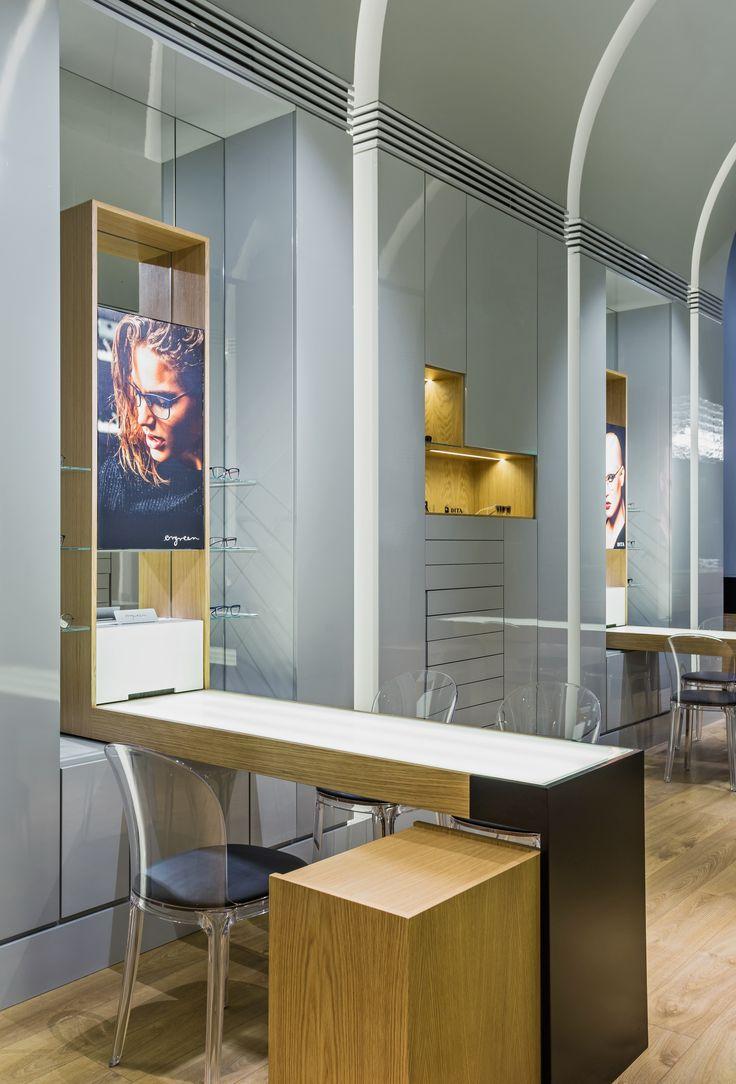 XYZ Arquitectos Associados - Óptica Médica Rogério - Matosinhos - Portugal - interior design - optical store - Vanity chair Magis
