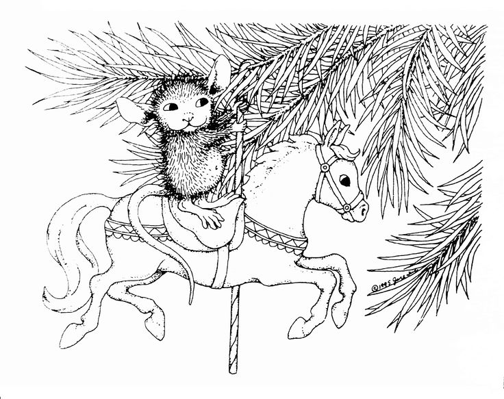 house mouse designs coloring pages - photo#4