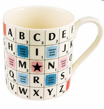 Scrabble mug @Rebekah Sylvest if it wasn't 30$ in shipping you'd have this. lol :/