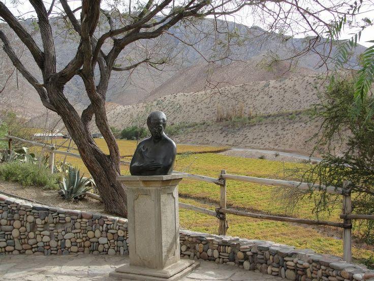 Sepulcro de nuestra insigne poetísa Gabriela Mistral,Montegrande,Valle de Elqui,CHILE.