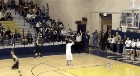 Mitchell Marcus, a disabled high school basketball player, scores a basket after an opposing player passes him the ball.   Can You Make It Through These Emotional Sports Moments Without Crying?