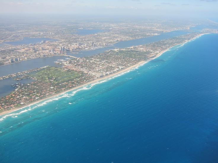 Palm Beach and West Palm Beach, March, 2012.