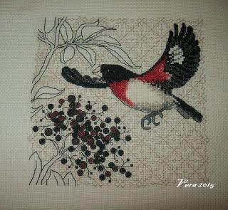 VERA:gondolataim  /kézimunkáról és egyebekről/: Bird &Berris /madaraim.../ a második is elkészült....