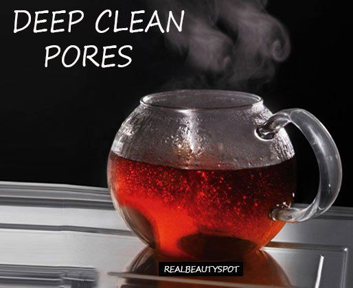 how to clean face skin pores