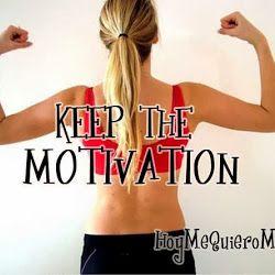 MOTIVACIONES para ejercitarte. Keep the motivation.