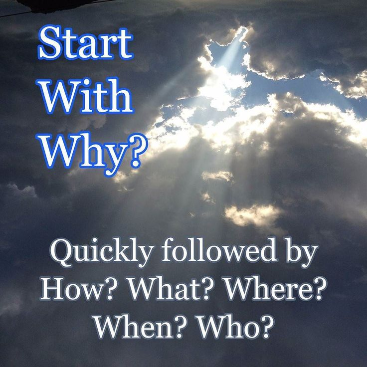 """We are often told to """"Start with Why?"""" and Simon Sinek's book of the same name is worth reading.  When it comes to your work and you decide to get your act together and Start With Why? Very often we go too high too fast.  - Why am I an activity X'r? e.g. Why am I a designer? Why am I a manager? Why am I a tester? - Why am I doing activity X? e.g. Why do we design? Why do we need managers? Why do we test? - Why is activity X important? e.g. Why is design important? Why is management…"""