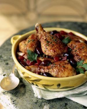 ONe-Pan Mediterranean Chicken