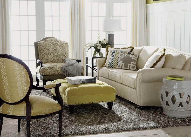 Whitney Sofa Beckett Linen