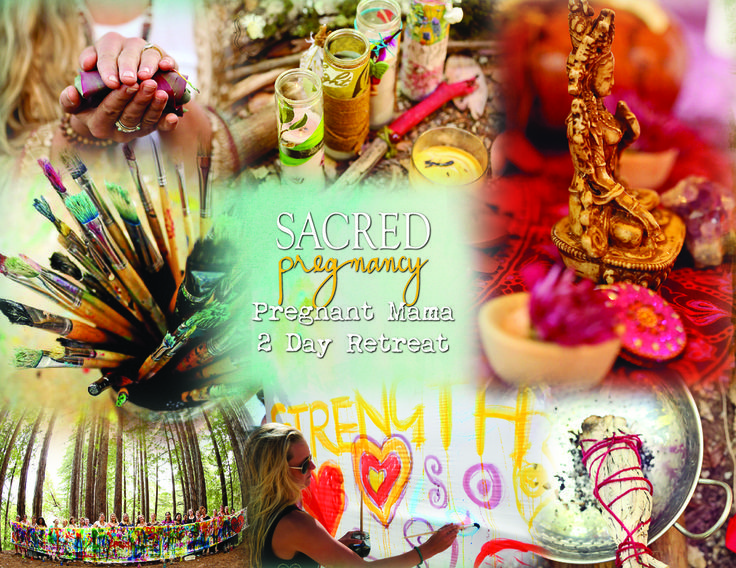 Sacred Pregnancy Retreats + the Beauty Way!