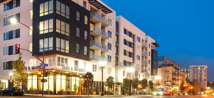 Luxury Living At 13th Market Apartments In The East Village Iconic Buildings Retail Facade San Diego Apartments