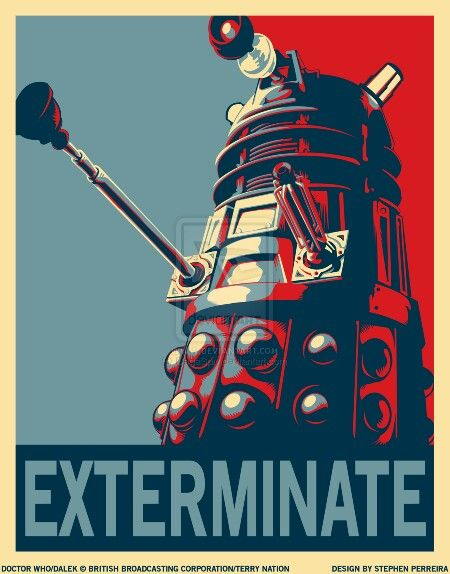 """Accourding to """"Whology,"""" Daleks said the famous """"EXTERMINATE!"""" only 469 times as of it's publishing."""