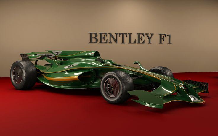 Bentley F1 concept car