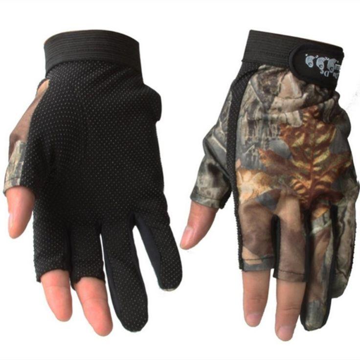 SA YANYI No Finger Gloves Breathable Anti - Slip Fishing Gloves Outdoor Waterproof Sun Gloves - intl<BR><BR><BR>shop-diving-gloves<BR><BR>http://www.9mserv.com/detail.php?pid=2331080&cat=shop-diving-gloves