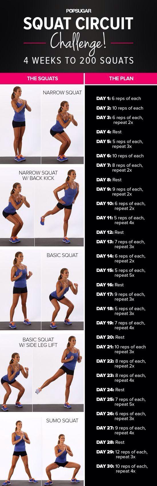 Squat challenge.