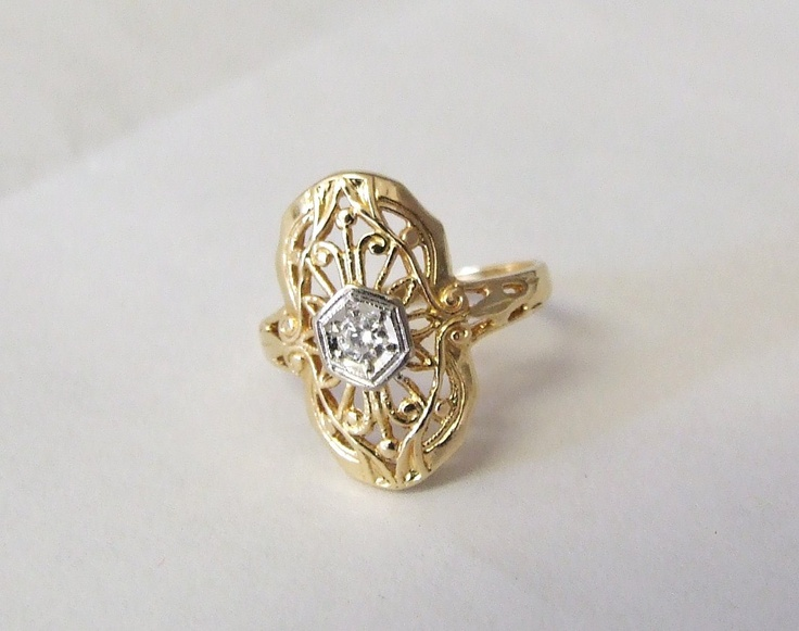 17 Best images about Rings 1930 1940 on Pinterest