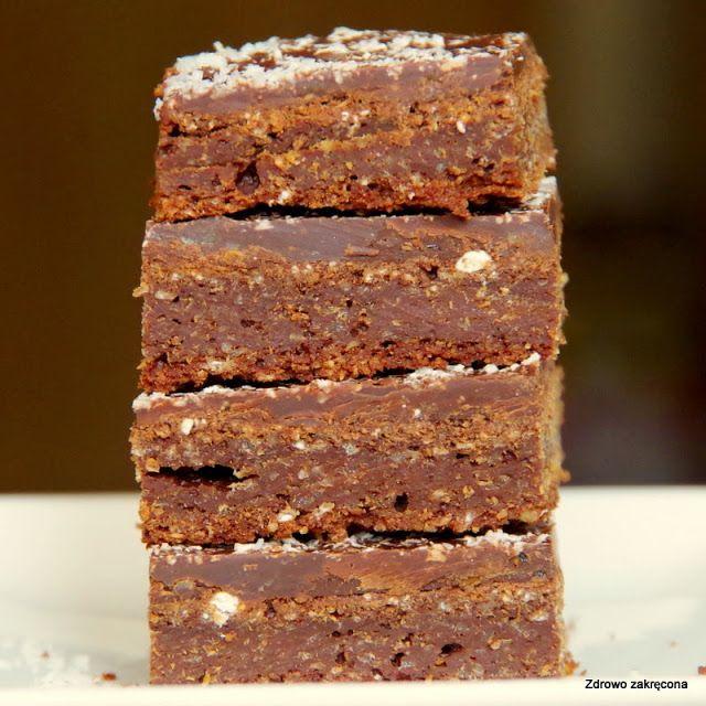 Zdrowo zakręcona: Klasyczne i proste wegańskie brownie. Bardzo czekoladowe i dietetyczne!