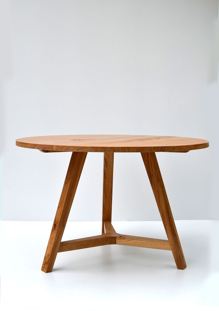 Charming Round Oak Dining Table Part - 2: Round Oak Dining Table - Handmade In Local Sustainable Oak.  Www.makersbespokefurniture.com