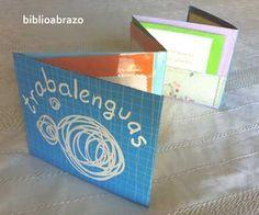 Libro acordeón con trabalenguas | Biblioabrazo