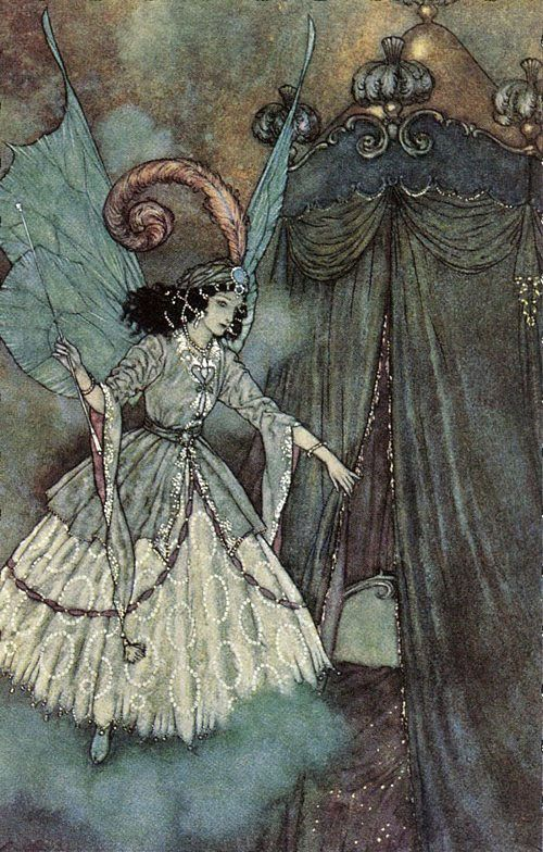 Edmund Dulac «Beauty and the Beast»