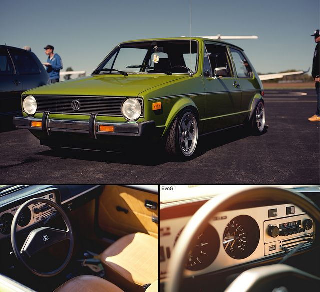 Mean, clean and green MK1 vw
