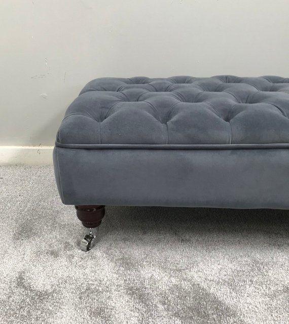 Large Footstool Coffee Table