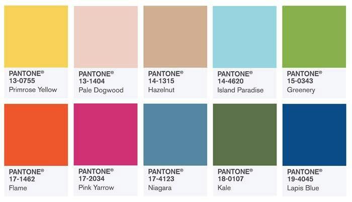 De kleuren van voorjaar 2017 (volgens Pantone)   Tot ziens in het Groenste winkeltje van Nederland