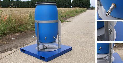 220L Agua barril Bebedor