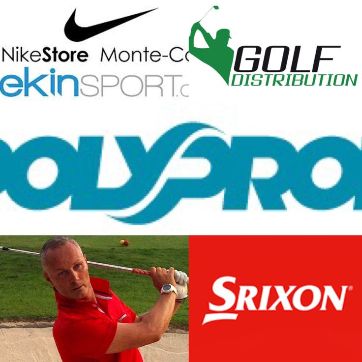 Merci à mes partenaires de leur soutien Polyprod Griupe 2F Golf distribution  Nike Monte Carlo  SRIXON