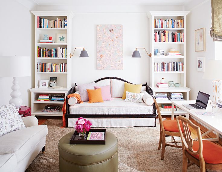 See more images from personalize a space with bookcases on domino.com