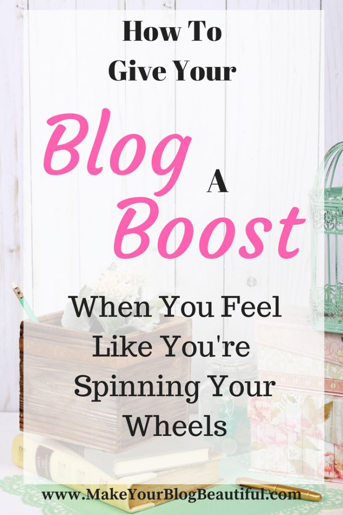 Ever feel like you're spinning your wheels when it comes to building your blog? Here are seven blogging tips to get you moving!