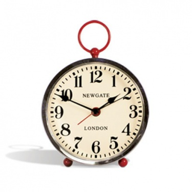 Newgate Wesley Alarm Clock in Red      Newgate Clocks