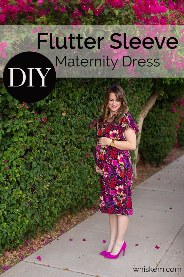 2702 best sewing images on pinterest sewing patterns diy clothes easy flutter sleeve womens dress tutorial maternity ombrellifo Choice Image