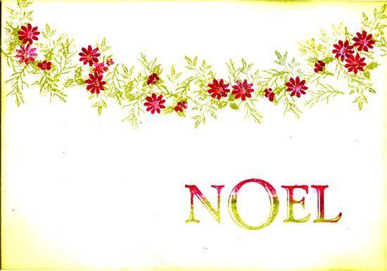 Rubber Stamp Tapestry - Noel Set