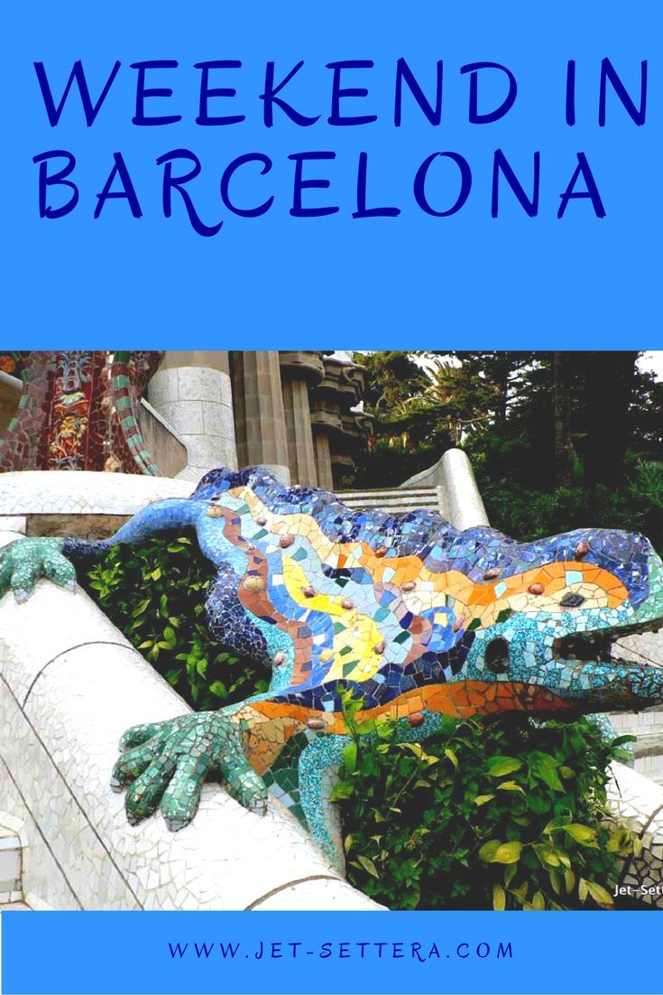 Read about the highlights of Barcelona that you can discover over a weekend…