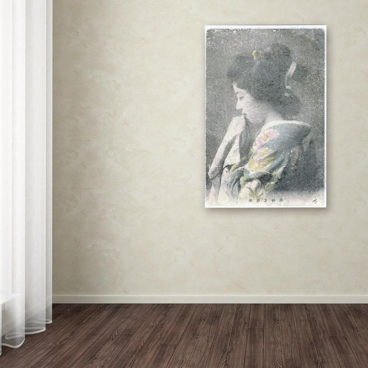 """19 in. x 12 in. """"Handmaid"""" by Nick Bantock Printed Canvas Wall Art"""