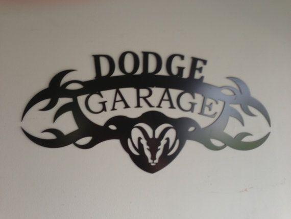 DODGE GARAGE SIGNE par SCHROCKMETALFX sur Etsy