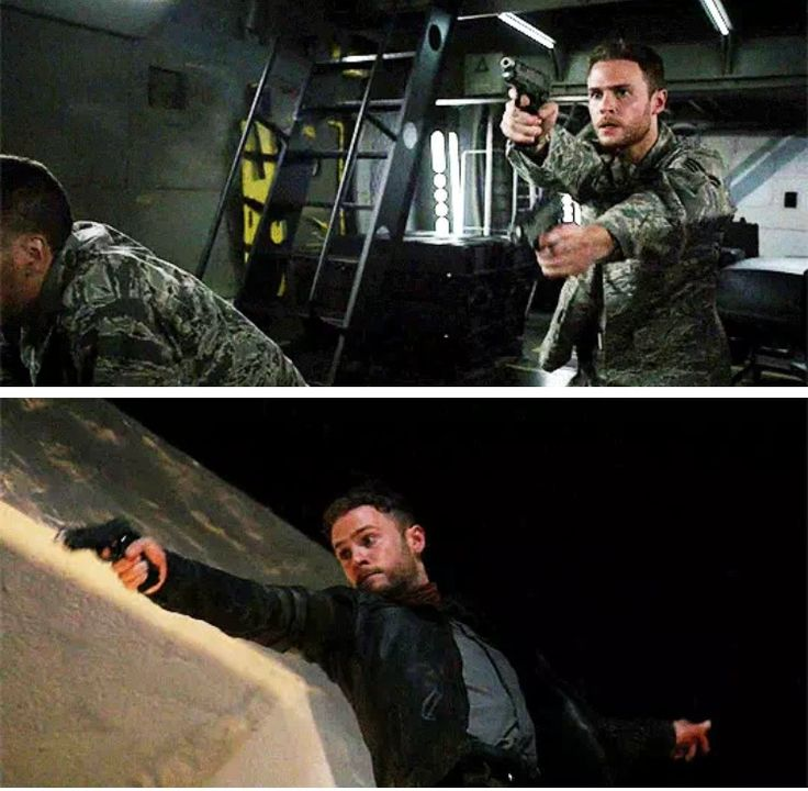 When did Fitz become such an amazing shooter? when he had had to get Jemma back.