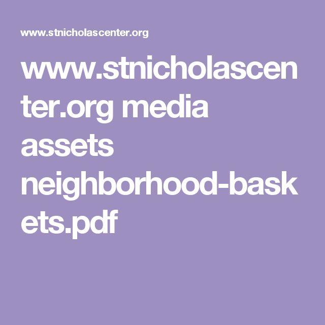 www.stnicholascenter.org media assets neighborhood-baskets.pdf