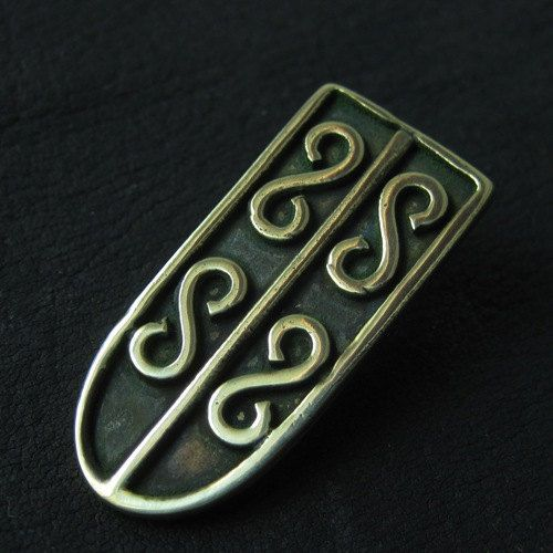 Bronze starp end from medieval Poland by Sulik on Etsy