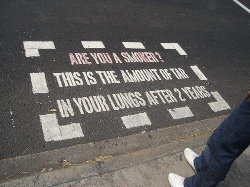 No smoking zone.