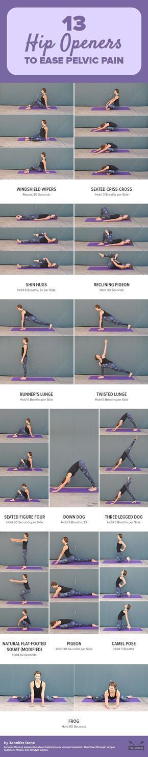 Are your tight hips putting a cramp in your lifestyle? Tight hips can lead to back pain and sciatica, and prevent you from doing activities that you enjoy. Try these 13 feel-good hip openers to loosen those muscles today. Get the workout here: pale