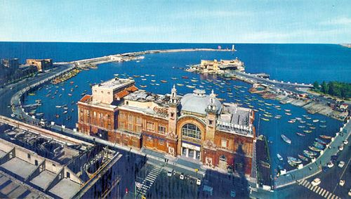 This is where we will port on our epic journey home later in August...Bari, Italy. On the Adriatic Sea.