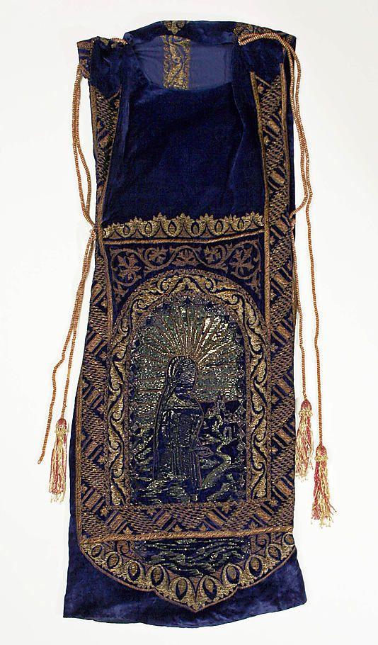 Evening dress, Callot Soeurs, ca. 1922