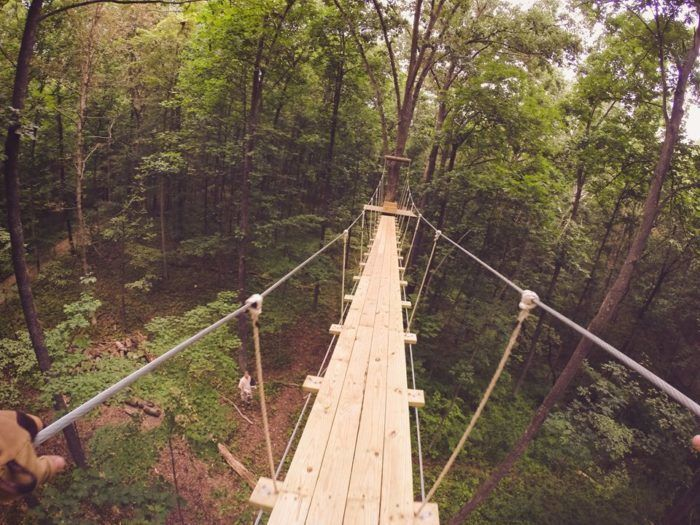 "13. <a href=""http://www.onlyinyourstate.com/connecticut/canopy-walk-in-ct/""target=""_blank"">Empower Leadership Sports & Adventure Center</a>"