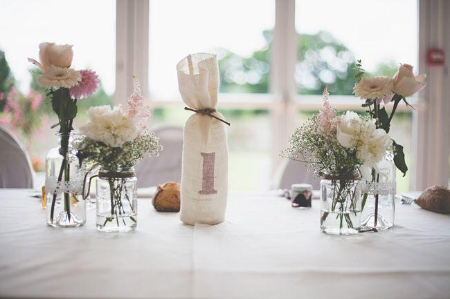 Les 40 meilleures images du tableau mariage centre de - Idee decoration de table ...