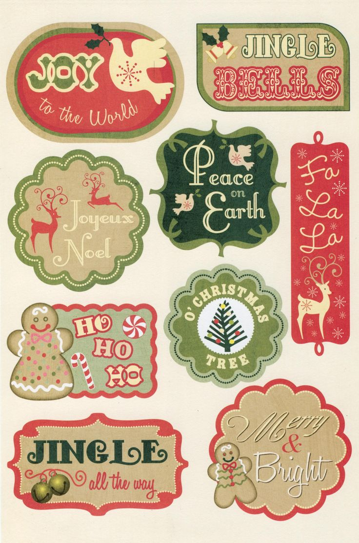 Peace on earth 13 01 tags cards printable label for Digitale weihnachtskarten gratis
